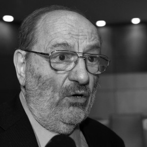 Umberto Eco Receives Guttenberg Award 2014