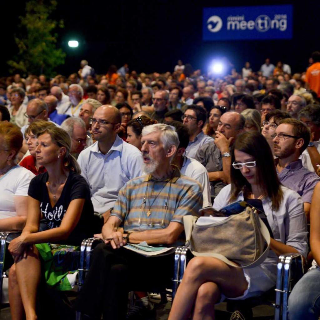 Rimini,27-08-2014: Meeting CL, pubblico ©GRPhoto/Riccardo Gallini