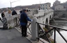 Ponte di Tiberio: addio auto!