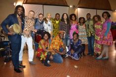 Coro africano a Piccola piazza d'arti