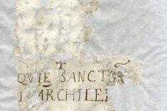 San Gaudenzo e le antiche reliquie