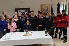 I 90 anni di Giovanni Ferri festeggiati dall'Associazione Nazionale Carabinieri