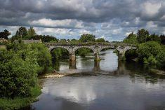 Il Ponte di  Tiberio diventa inglese
