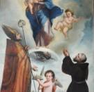 """La  Vergine immacolata  e Gesù  """"cacciatore"""""""