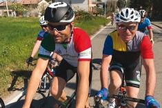 """Pedalando  per la Romagna con Andrea, """"pr"""" a 2 ruote"""