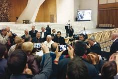 "Papa Francesco incontra la Caritas Diocesana – ""Andate avanti senza paura"""