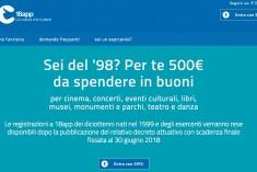 Bonus Cultura e quei 500 euro da spendere