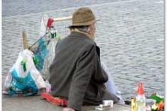 Clochard: una vita senza tetto