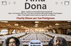 Borghese e Tomei, la cena di solidarietà a San Patrignano
