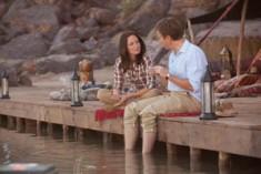 Romanticismo e umorismo nella rete da pesca