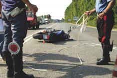 Incidenti: calano incidenti ma aumentano i morti