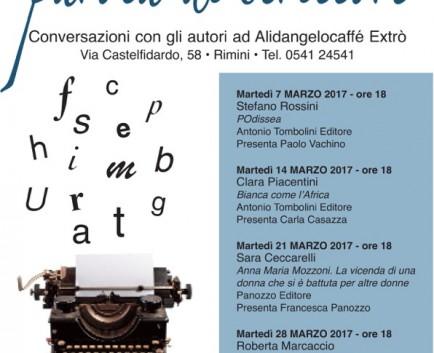 Parola di Scrittore – Conversazioni con gi autori