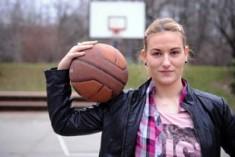 Rimini, il basket speciale di Natasa nel derby