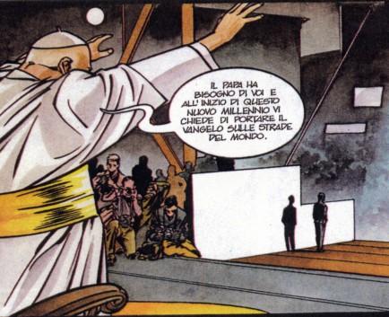 Un Papa a quadretti