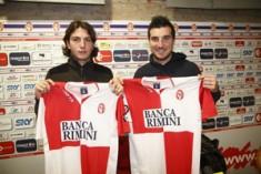 """Il sogno di Paponi e Matteini: """"Con il Rimini ai play-off"""""""
