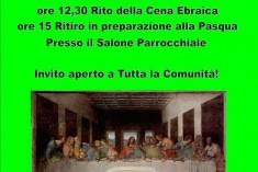 Verso Pasqua: cena ebraica a Castelvecchio