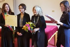 A Cristina Pozzi, ingegnere edile il Premio Imprenditrici di Successo