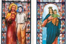 Le vetrate in onore del Beato Alberto