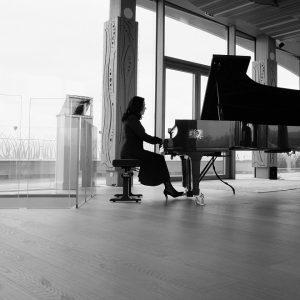 La pianista Claudia Berti - Ph Veronica Bronzetti