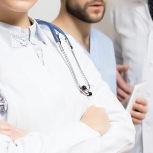 giovani studenti di medicina