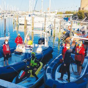 volontari soccorso in mare