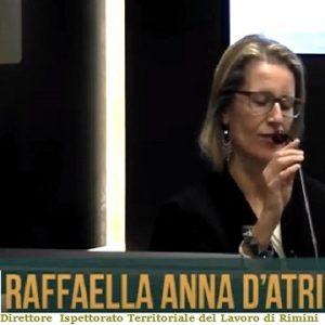 d.ssa Raffaella Anna D'Atri - Rimini ispettorato del lavoro