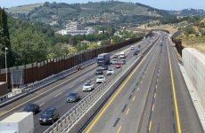 Sulla A1 aperta terza corsia tra Firenze sud e Incisa