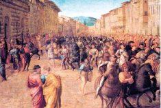 """1520, i """"danni di guerra"""" alle Celle"""