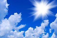 Prosegue la settimana con nuvolosità